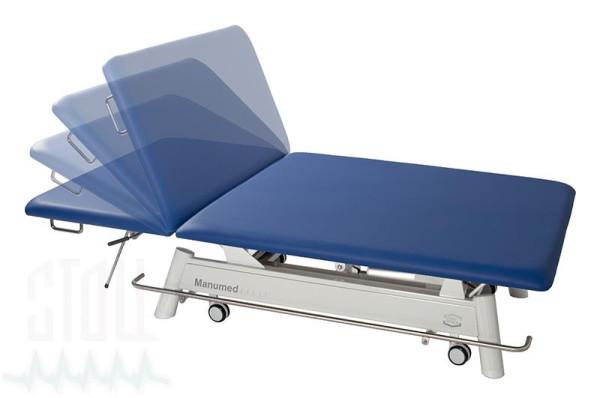 Manumed Spezial Typ 521, 2-teilige Therapieliege