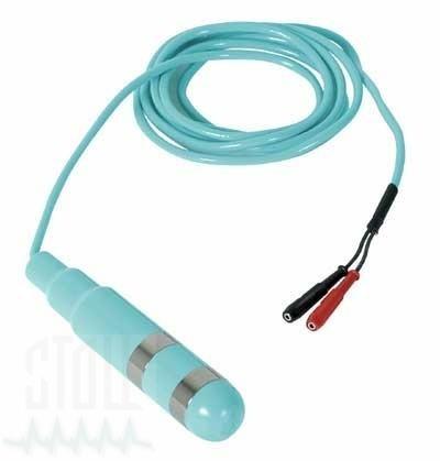Vaginalelektrode mit Kabel, 2 mm Buchsen