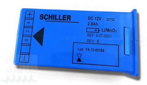 Lithiumbatterie für Schiller Fred easy
