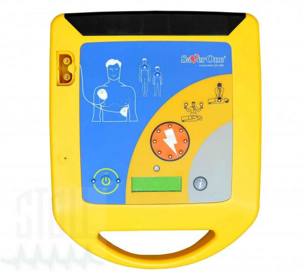 SAVER ONE AED Defibrillator A1 mit vollautomatischer Schockabgabe