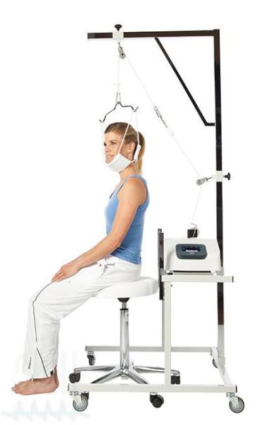 Mobiler Zusatztisch für Zervikalextension