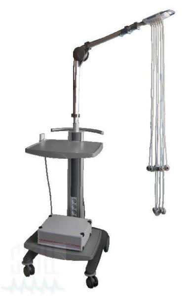 DT 100T EKG-Vakuumanlage Gerätewagen H