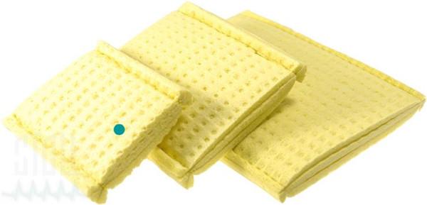 Viskoseschwämme für Plattenelektrode 4x6 cm, Satz von 4