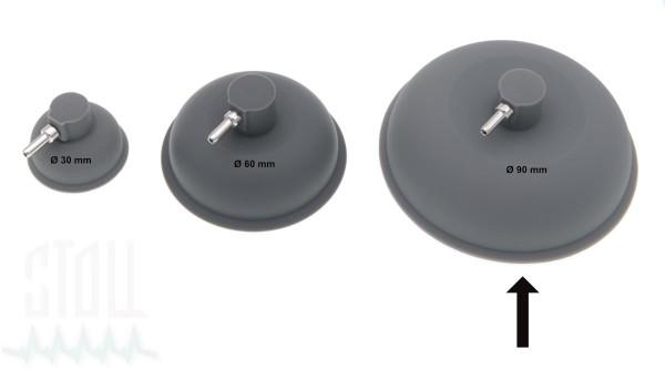 Vakuumelektrode  Ø 90mm (Satz v. 2)