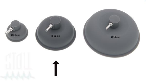 Vakuumelektrode Ø 60mm (Satz v. 2)