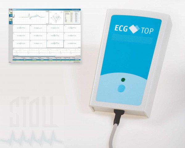Paket Ruhe-EKG, USB Sensor ECG Top (PADSY-ECG)