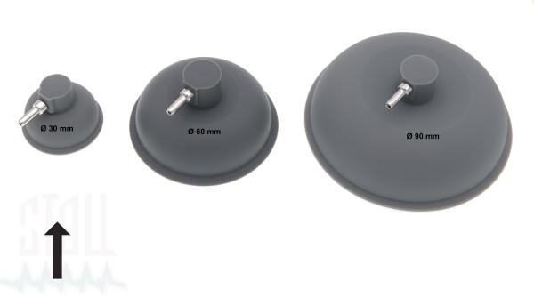 Vakuumelektrode Ø 30mm (Satz v. 2)