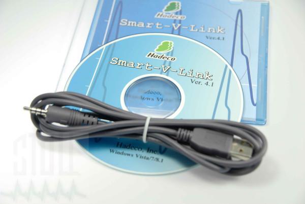 Hadeco Smart-V-Link Software für Doppler inkl. USB Kabel