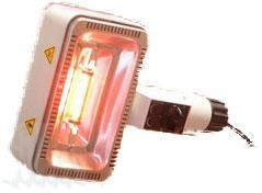 Bestrahlungskopf RotlichtstrahlerSollux Kombi