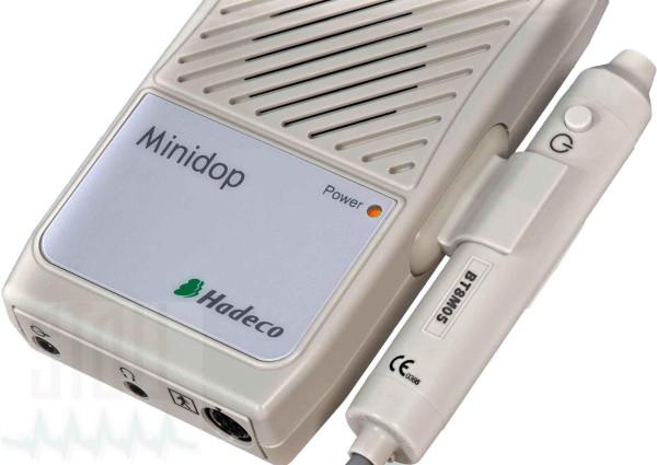 Hadeco Minidop ES-100VX Taschendoppler mit hervorragendem Ton, inkl. 8 MHz Sonde