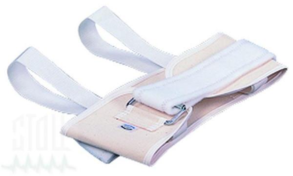 Brustgurt, Segeltuch, mit Klettverschluß für Extension